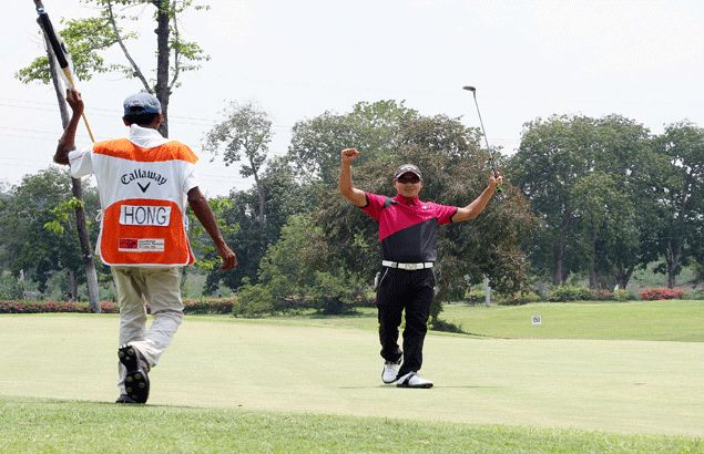 Hong holds sway to run away with title in ICTSI Luisita Championship