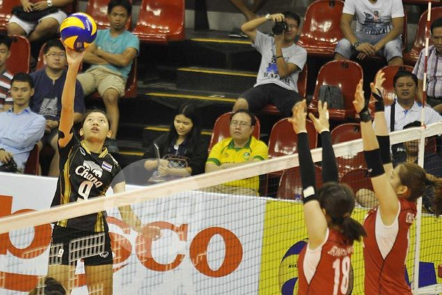 Thailand outlasts Korea for second consecutive win in Asian U23 Women's Volley Championships
