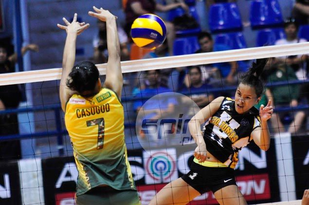 Lastimosa, Rondina show way as UST Tigresses halt five-match skid with win over FEU Lady Tamaraws