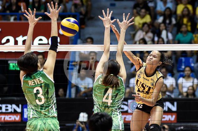 UST Tigresses send La Salle Lady Spikers crashing back to earth with shock win