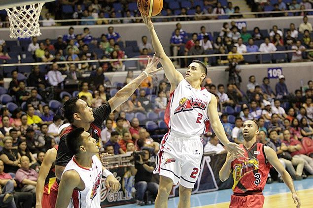 Chris Banchero says career-game performance against San Miguel just another day at the office