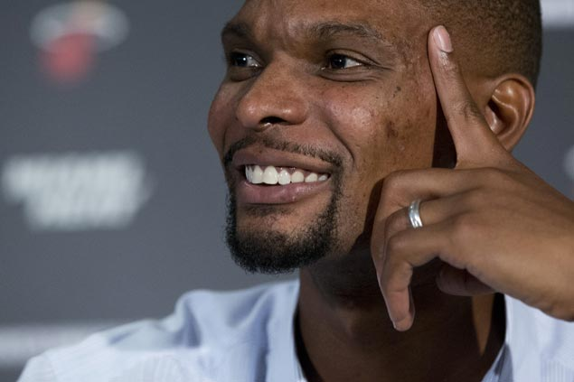 Police raid Chris Bosh house in Texas, NBA free agent's mother subject of drug trafficking probe