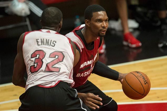 With 13 new guys on the lineup, Miami Heat focused on speeding up rebuilding process
