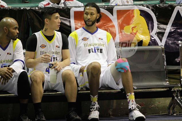 Hamstring injury suffered in tune-up game sidelines Blackwater import Chris Charles