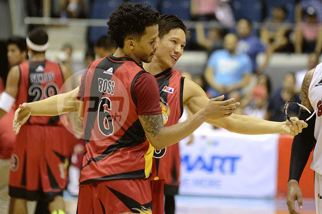San Miguel spoils Greg Slaughter return with one-sided win over Barangay Ginebra