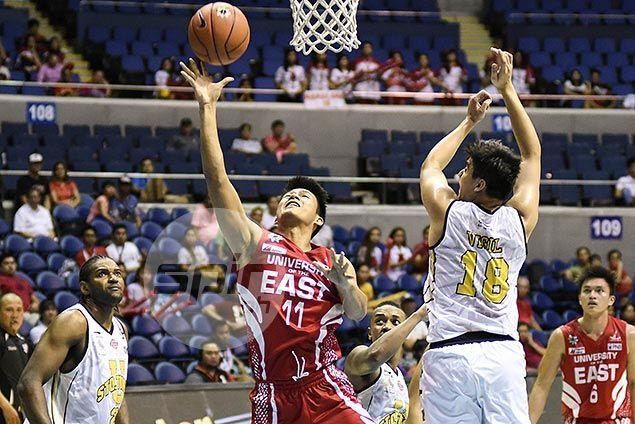 UE Red Warriors stay within striking distance of playoff berth with upset of UST Tigers