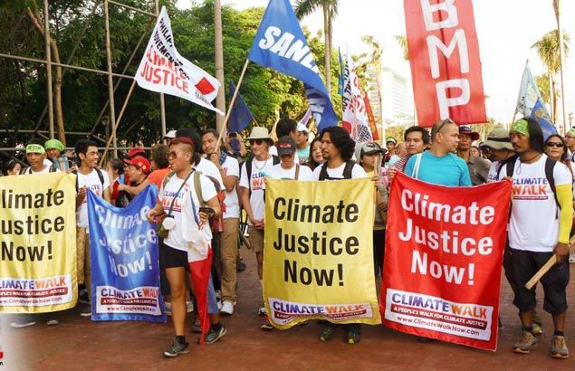Advocates begin 40-day walk from Manila to Tacloban to step up fight against climate change