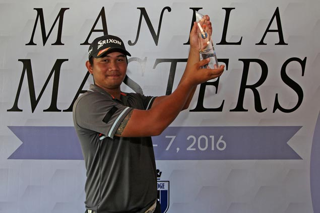 Clyde Mondilla edges Jobim Carlos in playoff for Manila Masters title