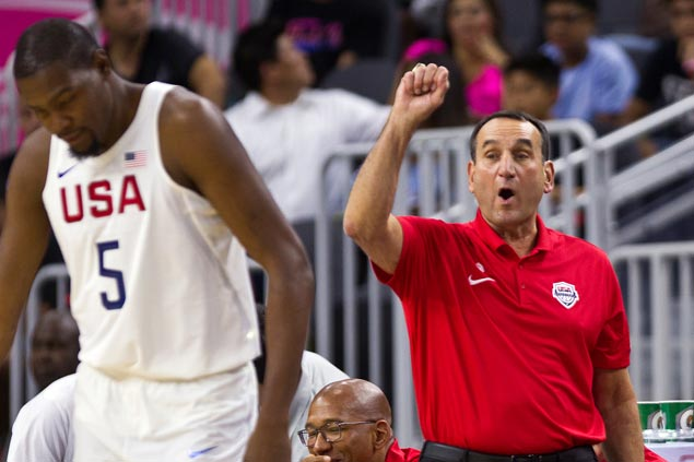 KD shows way anew as Team USA deals China 49-point rout in tuneup match for Rio