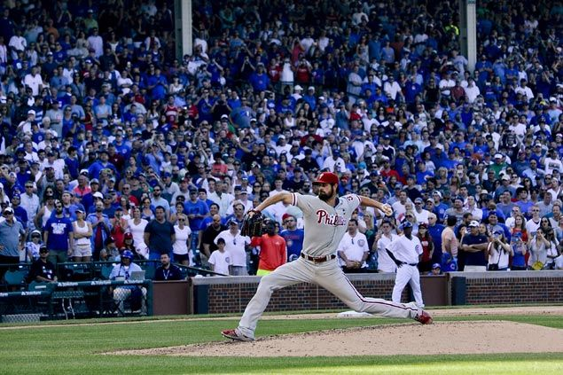 Cole Hamels tosses first career no-hitter in what could be his final start for Phillies