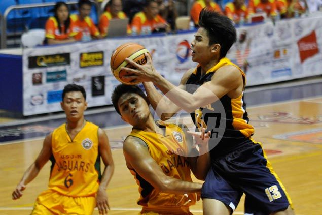 JRU Bombers shake off slow start to beat USJR Jaguars for third win in Filoil Cup