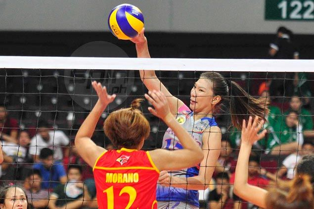 Cristine Rosario stars as Arellano turns back San Sebastian in battle of unbeaten squads in NCAA volley