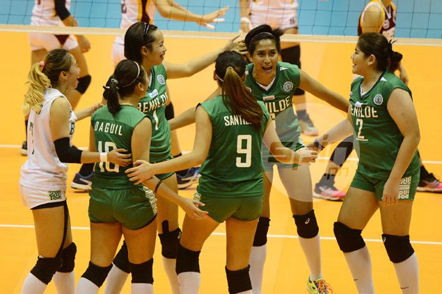 St. Benilde eliminates Perpetual Help to arrange playoff with NCAA women's volley titleholder Arellano