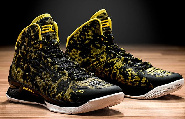 Under Armour takes a leap into hoops market with Stephen Curry signature shoe