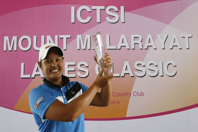 Cyna Rodriguez tops Malarayat Ladies Classic with 10-shot romp over Thai foe