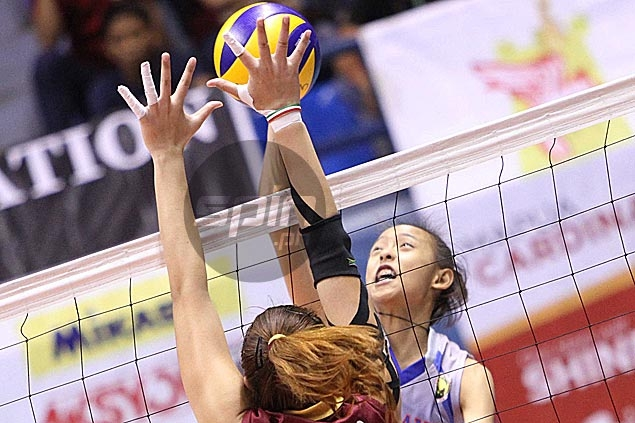 Arellano downs Perpetual Help to complete first-round sweep in NCAA volley