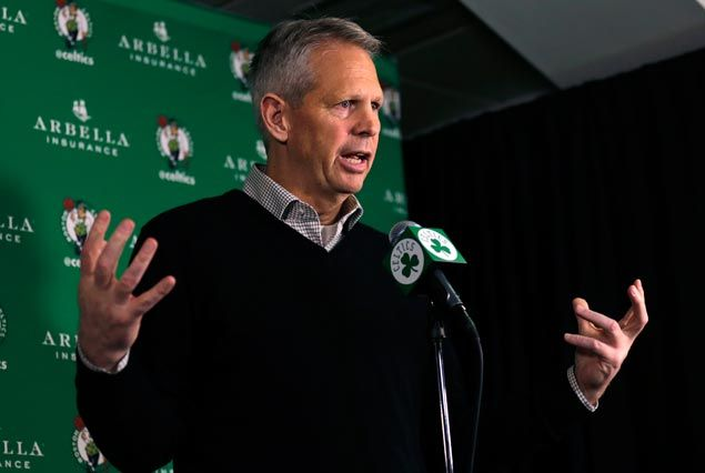 Ainge wants to build on Celtics's surprising playoff berth
