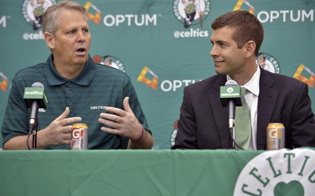 Celtics president Danny Ainge, coach Brad Stevens get contract extensions
