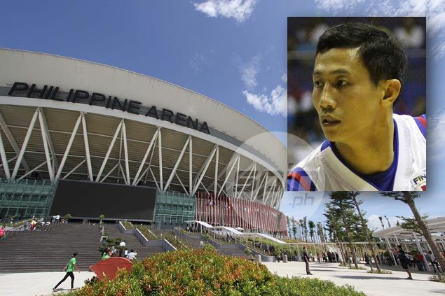 New entry on Danny Ildefonso's bucket list before retirement: Play at super Philippine Arena