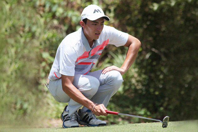 Danny Masrin's lead down to one with two rounds to play at Sherwood