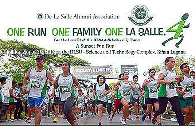La Salle's 'Orofols' run lures huge field of leisure runners to satellite Laguna campus