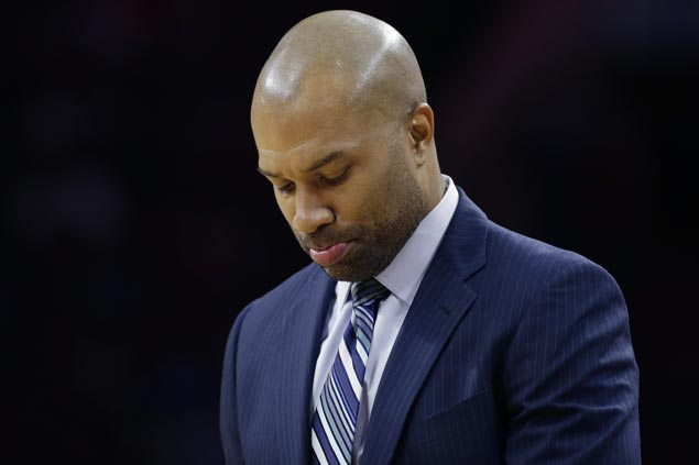 Derek Fisher believes Knicks less talented but 'much better' during his time as coach
