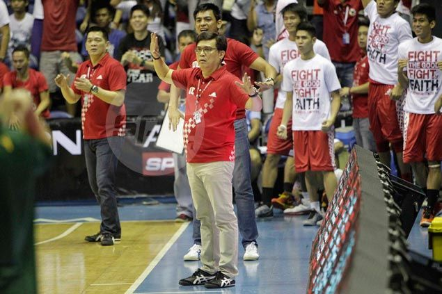 Derrick Pumaren eases Roi Sumang into rotation, hopes UE star has learned his lesson