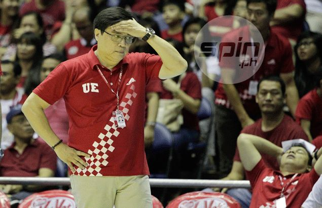 UE coach Derrick Pumaren disappointed after loss, but sees lots of positive for Warriors next season