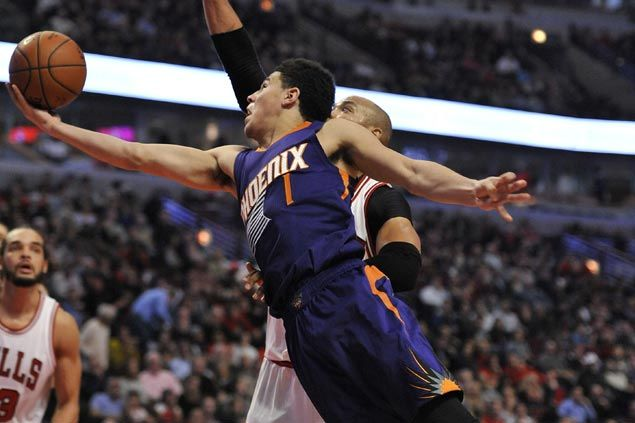 Suns torch Bulls in fourth to arrest four-game slide
