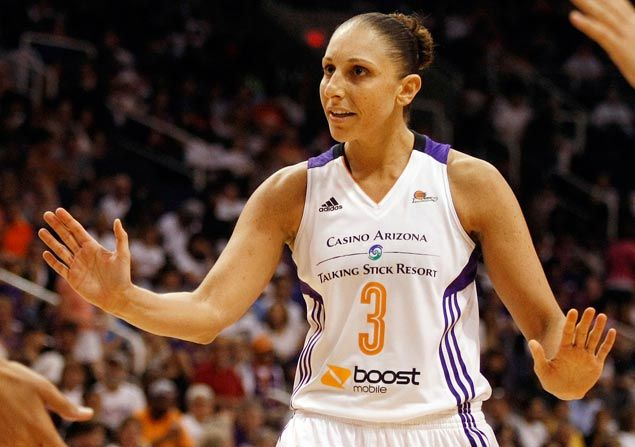 WNBA great Diana Taurasi learning to be a parent on the fly