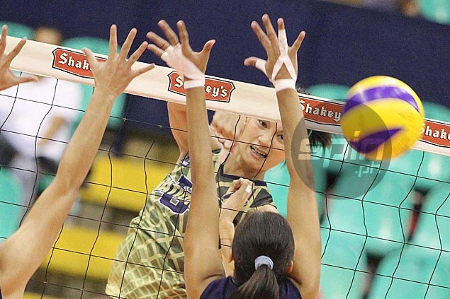 Lady Bulldogs recover from a set down to turn back hard-fighting Lady Falcons