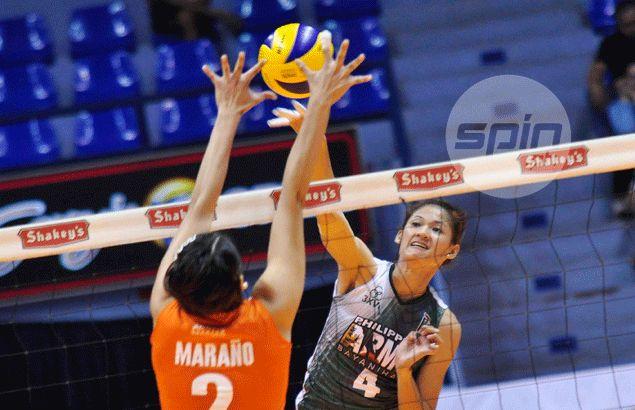 Dindin Santiago on stint with Philippine Army: 'Ine-expect ko po na kaya nila akong dalhin sa championship'