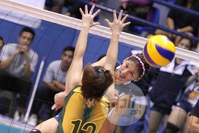 National U stops FEU in straight sets to stretch streak to five