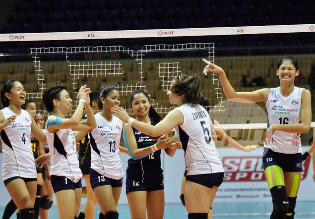 Mighty Chinese Taipei proves too much for Petron in Asian Club Championship