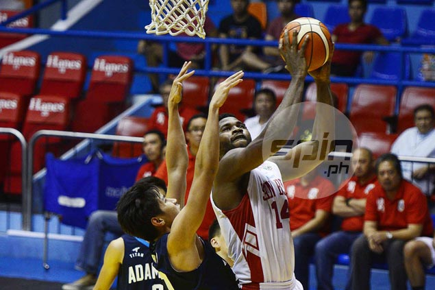 Donald Tankoua posts huge double-double as San Beda turns back Adamson for fifth straight win