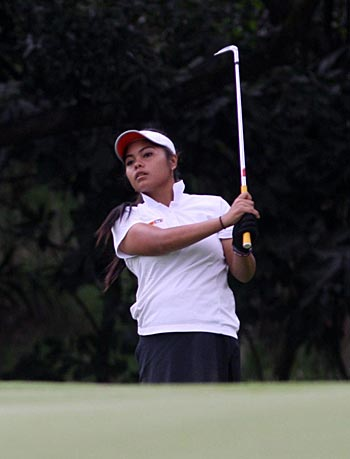 Regan de Guzman, Dottie Ardina in top 10, stay on track in bid for LPGA Tour cards