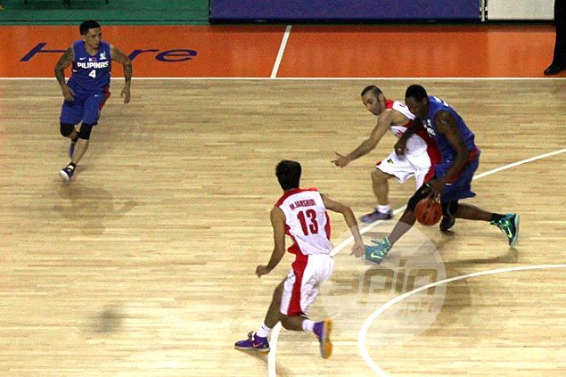 Gilas coach Reyes on Douthit's late three-point attempt: 'He shouldn't have taken that shot'