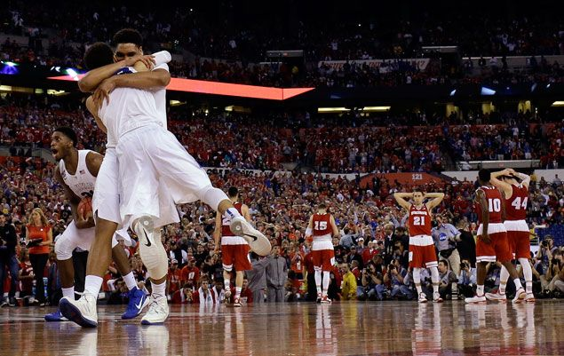 Grayson Allen sparks second-half surge as Duke Blue Devils down Wisconsin Badgers for NCAA title