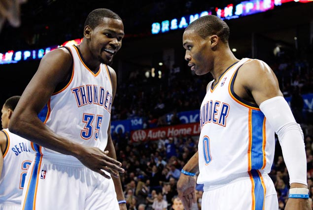 Kevin Durant, Warriors set to face Westbrook-led Thunder in OKC on February 12