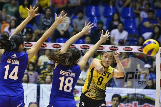 UST Tigresses end Ateneo Lady Eagles' bid for V-League sweep, force deciding match for finals berth