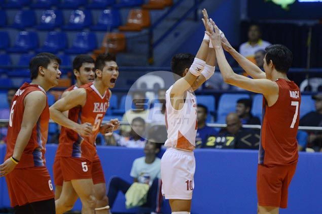 EAC Generals ease to victory over NCBA Wildcats in opening match of Spikers' Turf battle for third