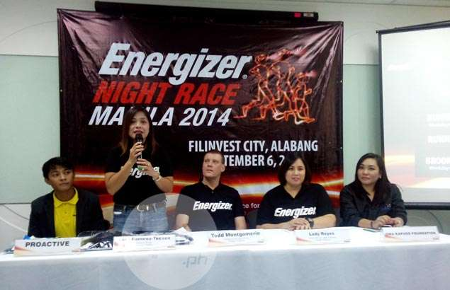 Organizers vow Energizer Night Race 2014 will be a source of positive energy for runners