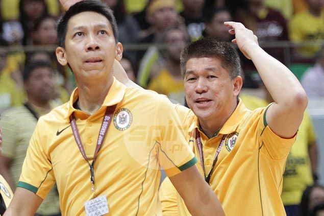 Nash Racela denies turning TnT into FEU lair as Eric Gonzales joins Katropa coaching staff