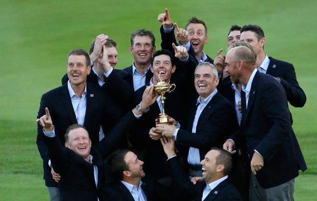Europe wins the Ryder Cup again, secures victory with four matches to spare