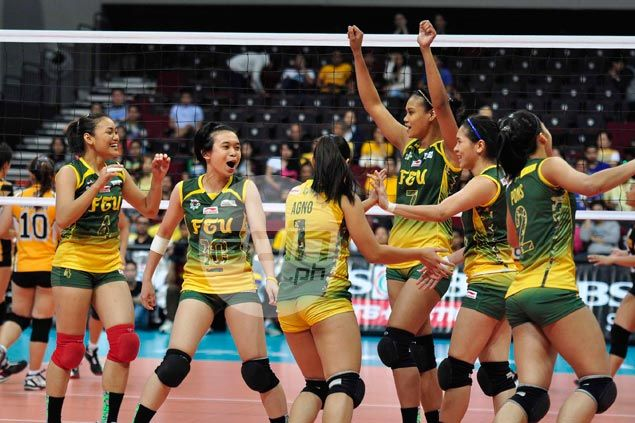 FEU Lady Tamaraws secure spot in stepladder semis with five-set win in KO match against UST Tigresses