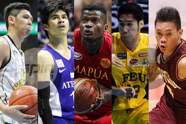 Kiefer Ravena, Allwell Oraeme, Mac Belo lead list of contenders for top honor in Collegiate Basketball Awards