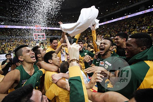 FEU Tamaraws outduel UST in Game Three thriller, win first UAAP title in a decade