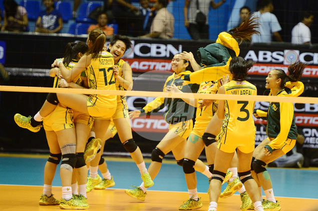 FEU Lady Tamaraws clinch No. 3 spot in semis with thrilling win over Adamson Lady Falcons