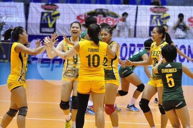 FEU Lady Tamaraws bounce back, start quarterfinal campaign with rout of CSB Lady Blazers
