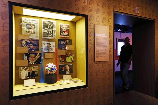 In a year of odd moves, Fifa and Al Capone become neighbors in Mob Museum